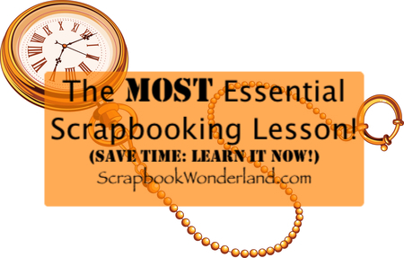 Essential Scrapbook Lesson