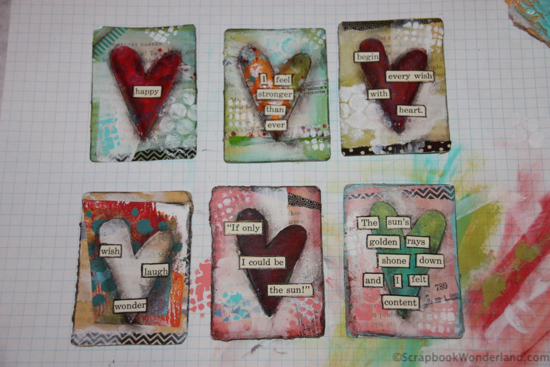 Stephanie Ackerman heart card tutorial