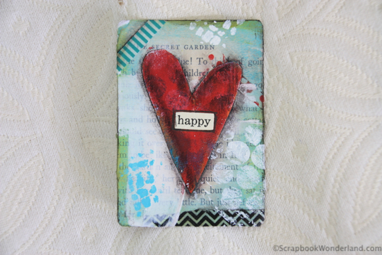 heart card by Alice happy