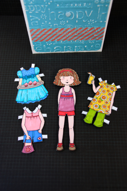 Paper Doll Card image 3