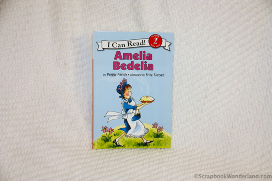 'Amelia Bedelia' may inspire you to scrap about a mix-up!