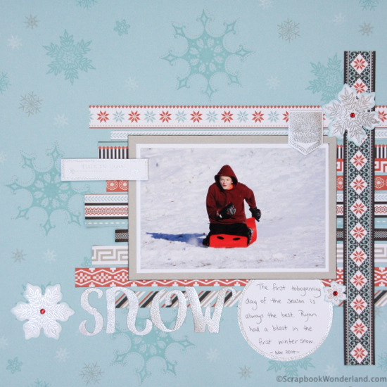 Create your own custom stamped backgrounds with these simple steps.