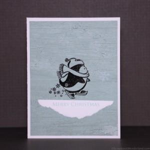 merry little penguin image