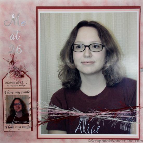Me at 26 layout image