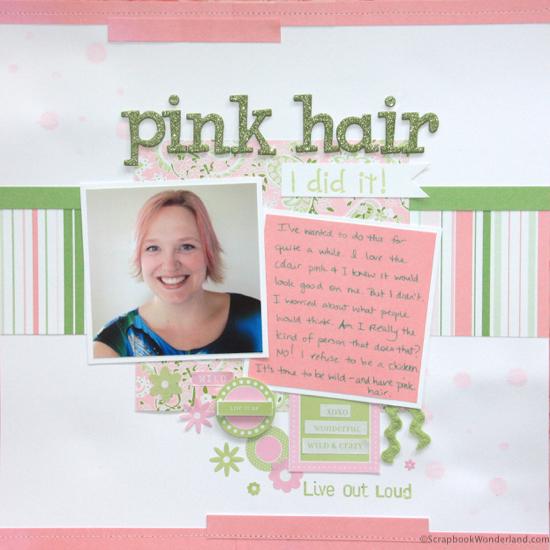 pink hair layout image1