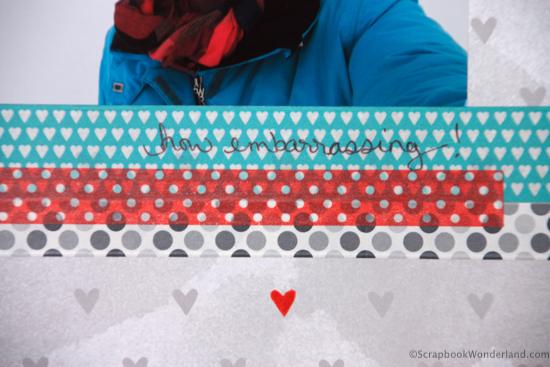 ski story layout detail image