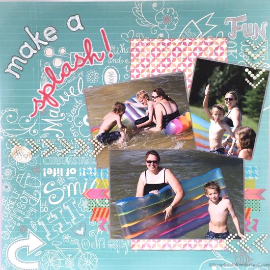 Make a splash layout