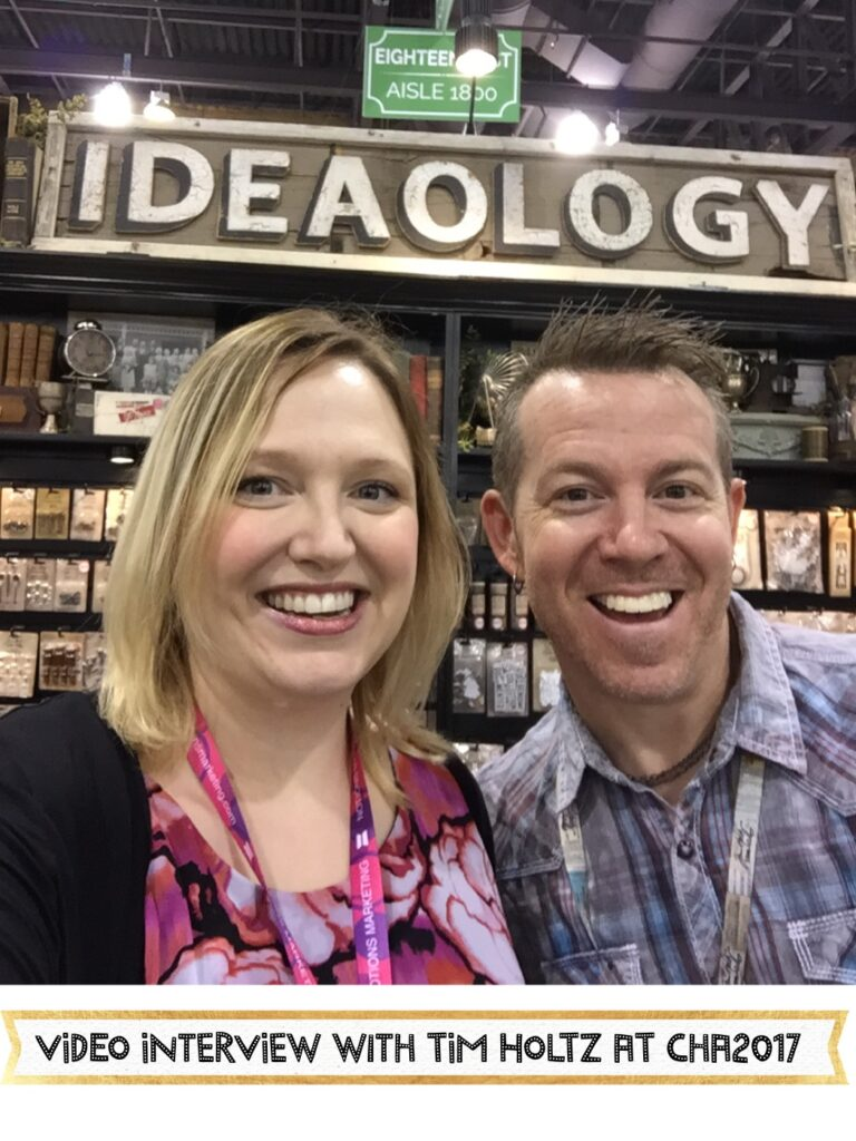 Tim Holtz shares different styles you can create with mixed media using his Ideaology line at CHA2017. #mixedmedia #timholtz #ideaology #cha2017 #craft #distress #art