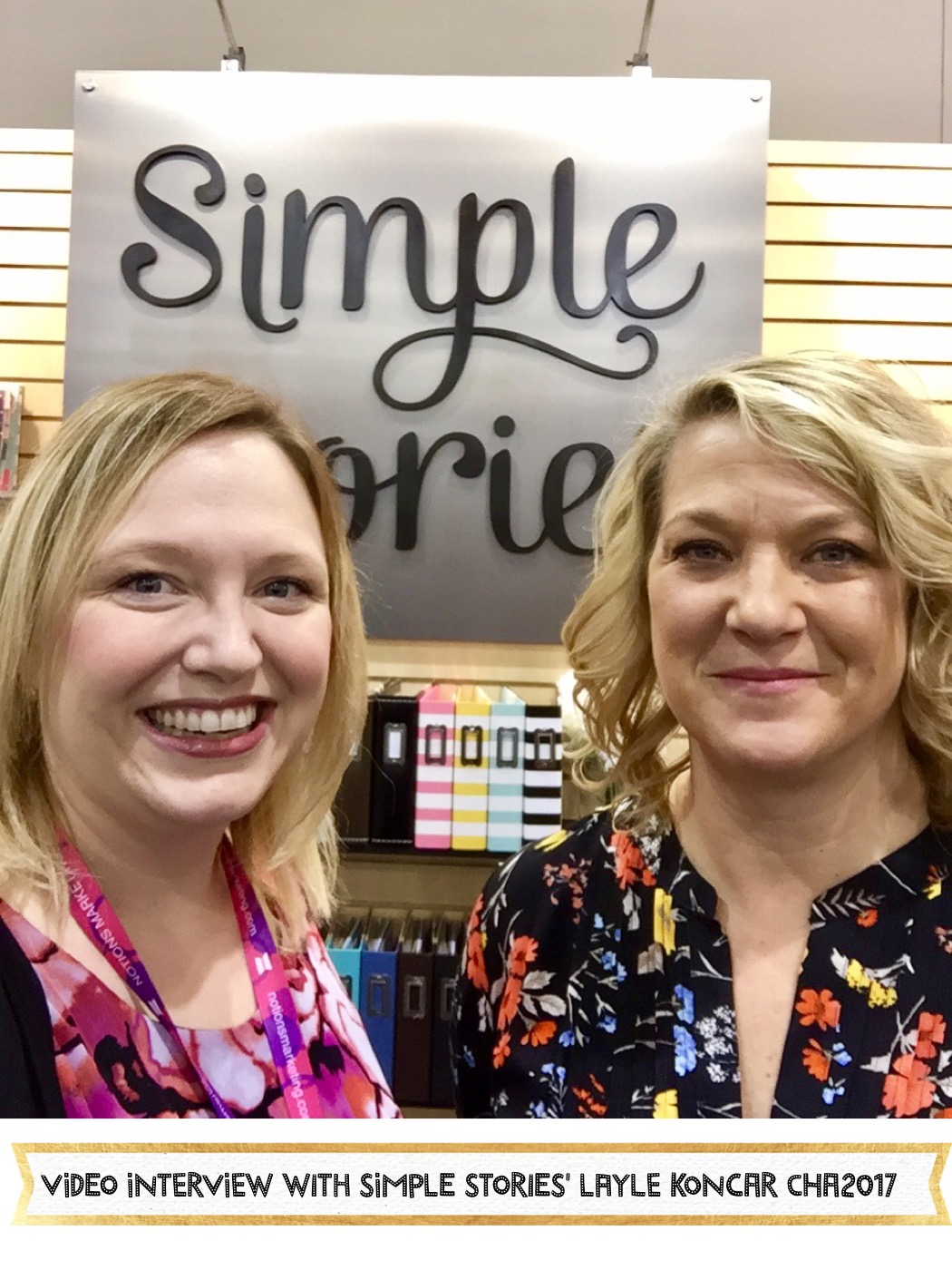 Alice and Layle Koncar Simple Stories CHA2017
