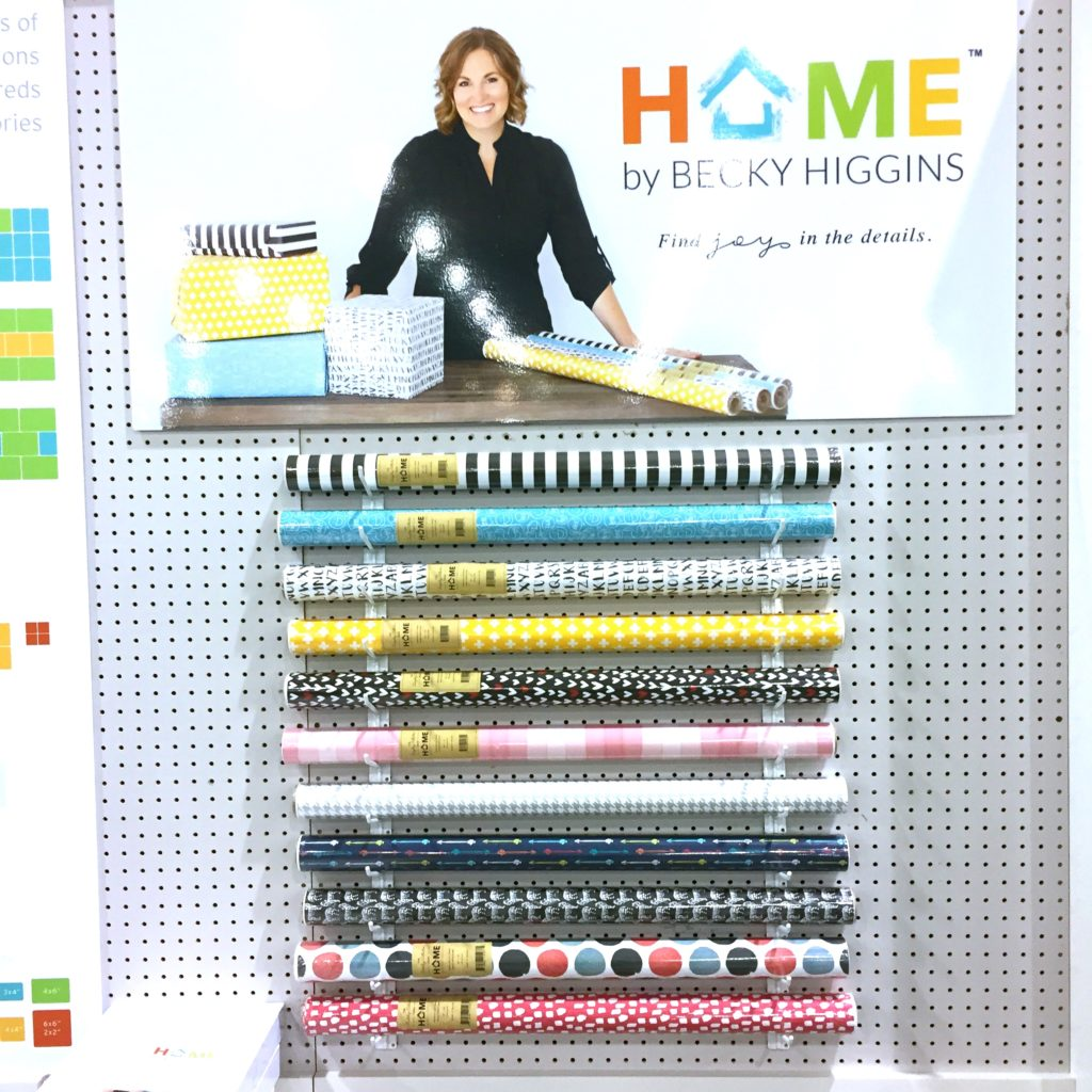 Becky Higgins: Home, wrapping paper made from limestone