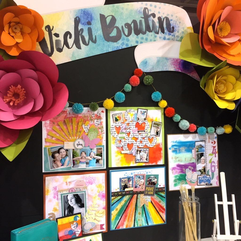 Vicki Boutin: mixed media for scrapbookers