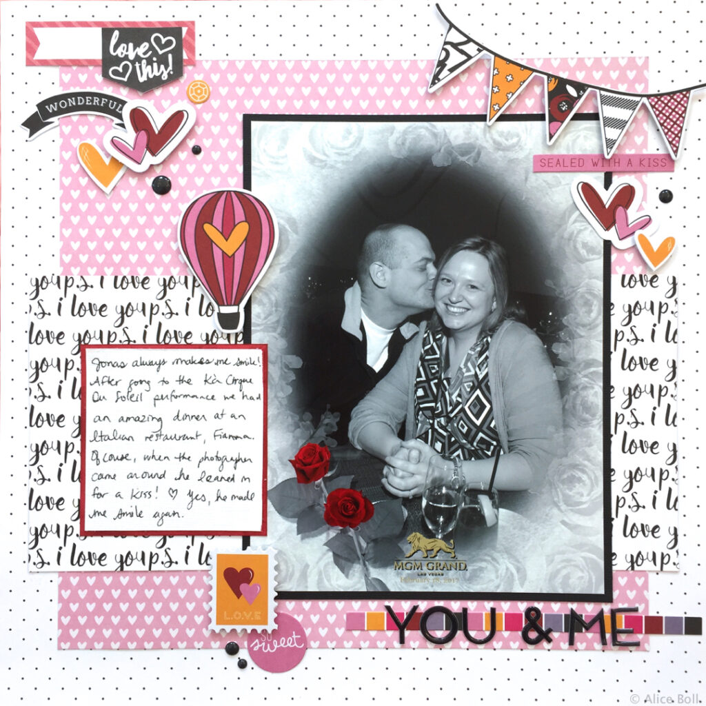 you and me vegas layout