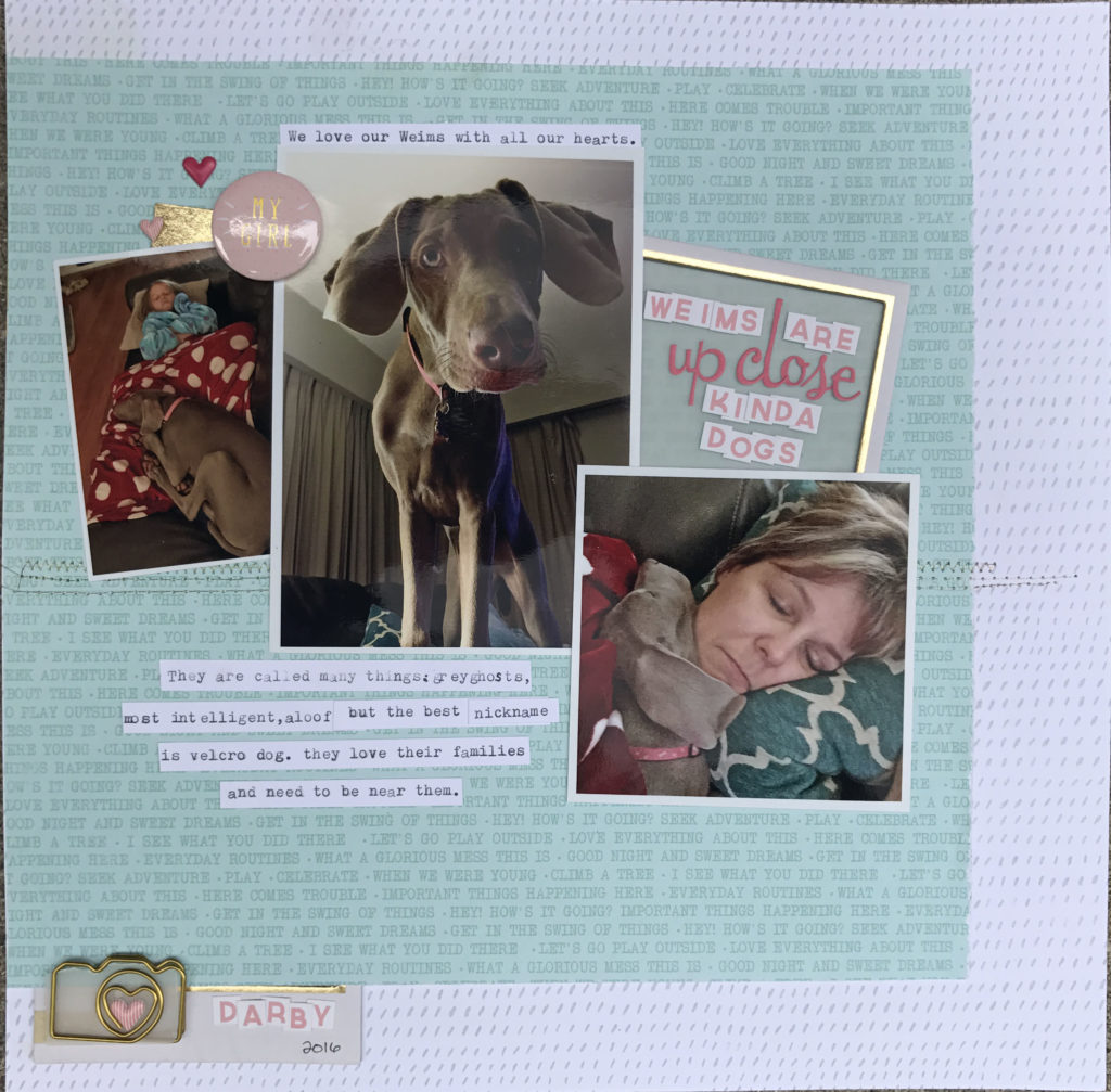 10 tips for using frames on a layout - sweet!