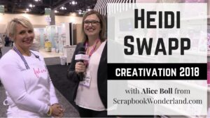 VIDEO: See Heidi Swapp's new products released at Creativation 2018 in Phoenix, Arizona. Hawthorne scrapbooking collection, planners, neon decor and more! #heidiswapp #hawthorne #glitterplanner #iridescentplanner #neon